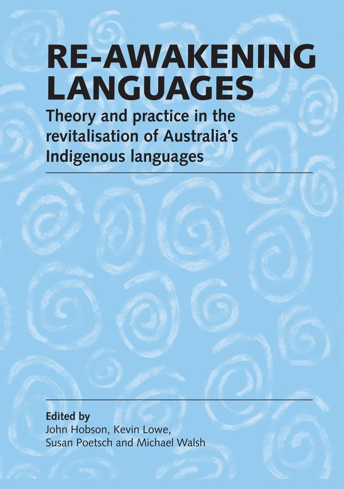 "Cover: ""Re-awakening Languages' edited by John Hobson et al."