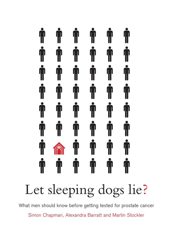 "Cover: ""Let Sleeping Dogs Lie?"" by Simon Chapman, Alexandra Barratt and Martin Stockler"